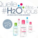 Test de produit : 1000 Duos H²O et Soin Bioderma - anti-crise.fr