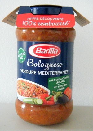 anti-crise.fr offre de remboursement barilla bolognese