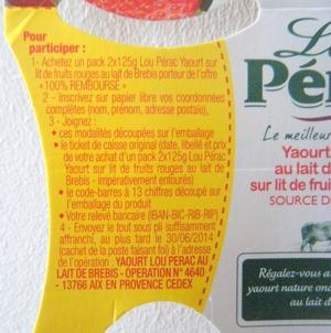 anti-crise.fr offre de remboursement lou pérac yaourt