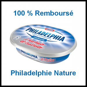 100 % Remboursé : Philadelphia Nature - anti-crise.fr