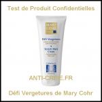 Test de Produit Confidentielles : Défi Vergetures Mary Cohr - anti-crise.fr