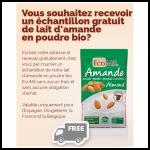 Echantillon Lait d'Amande en Poudre Bio EcoMil - anti-crise.fr
