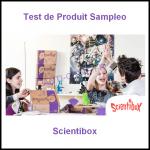 Test de Produit Sampleo : Scientibox - anti-crise.fr