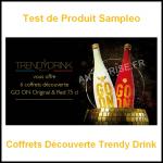 Test de Produit Sampleo : Coffrets Découverte Trendy Drink - anti-crise.fr