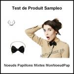 Test de Produit Sampleo : Noeuds Papillons Mixtes MonNoeudPap - anti-crise.fr