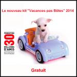 """Le nouveau kit """"Vacances pas Bêtes"""" 2014 gratuit 30 Millions d'Amis - anti-crise.fr"""