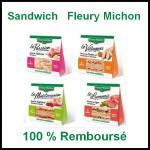 100 % Remboursé : Sandwich Fleury Michon - anti-crise.fr