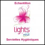Echantillon Tena : Serviettes hygiéniques Lights - anti-crise.fr