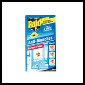 Test de produit insecticide autocollant raid anti mouches x4 - Produit naturel contre les mouches ...
