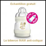 Bon plan Futures Mamans : Le biberon MAM anti-colique - anti-crise.fr