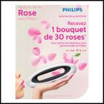 Philips : Pour l'Achat d'un Téléphone Design un Bouquet de 30 roses offert - anti-crise.fr