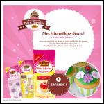 Tirage au Sort Facebook : 3 000 échantillons Décos pour Gâteaux Vahiné - anti-crise.fr