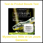 Test de Produit Beauté Test : Mystérieux Mille et Un Jours Garancia - anti-crise.fr