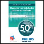Offre de Remboursement Philips jusqu'à 50€ sur les Brosses à dents Sonicare - anti-crise.fr