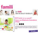 Test de produit : Jeu Les Eléphants Cascadeurs d'Haba - anti-crise.fr