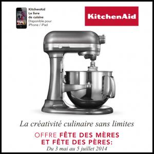 Offre kitchenaid pour 1 euro de plus