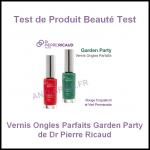 Test de Produit Beauté Test : Vernis Ongles Parfaits Garden Party de Dr Pierre Ricaud - anti-crise.fr
