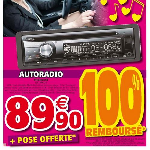 anti-crise.fr offre de remboursement autoradi leclerc albi