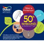 Offre de Remboursement Dulux Valentine 50% sur le 2ème Pot acheté - anti-crise.fr