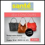 Tirage au Sort Santé Magazine : Un sac à main Mac Douglas à Gagner - anti-crise.fr