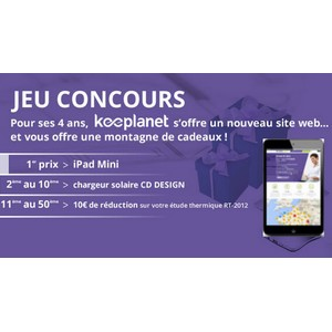 tirage au sort keeplanet sur facebook un ipad mini gagner. Black Bedroom Furniture Sets. Home Design Ideas