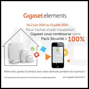 Offre de Remboursement Gigaset : Votre Pack Sécurité 100 % Remboursé - anti-crise.fr