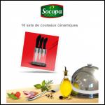 Instants Gagnants Socopa : 10 Sets de 3 Couteaux Céramiques - anti-crise.fr