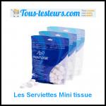 Test de Produit Tous Testeurs : Les Serviettes « Mini tissue » - anti-crise.fr