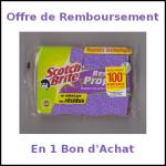 Offre de Remboursement Scotch Brite en 1 Bon d'Achat - anti-crise.fr