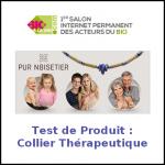 Test de Produit Bio à la Une : Collier Thérapeutique Pur Noisetier - anti-crise.fr