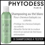 Test de Produit Beauté Addict : Shampooing au Thé Blanc Eclat et Protection Phytodess - anti-crise.fr