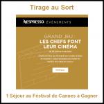 Tirage au Sort Nespresso : 1 Séjour au Festival de Cannes à Gagner - anti-crise.fr
