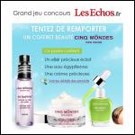 Tirage au Sort Les Echos : Un Coffret Beauté 5 Môndes à Gagner - anti-crise.fr