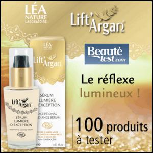 Test de Produit Beauté Test : Sérum Lumière d'exception de Lift'Argan® Léa Nature - anti-crise.fr