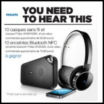 Tirage au Sort Amazon sur Facebook : Un Casque sans fil Bluetooth NFC avec micro Philips à Gagner - anti-crise.fr