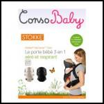 Test de Produit Conso Baby : Porte-bébé myCarrier Cool STOKKE 3 en 1 - anti-crise.fr