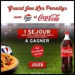 Tirage au Sort Pizza Hut sur Facebook : Un week-end 100% football à Barcelone pour 4 personnes à Gagner - anti-crise.fr