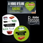 Instants Gagnants + Tirage au Sort Atelier Poisson / Pyrex : Plat Pyrex à Gagner - anti-crise.fr