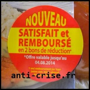 Offre de Remboursement Delpierre : Saumon en sauce Remboursé en 2 Bons d'Achat - anti-crise.fr