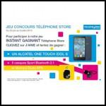 Instants Gagnants Téléphone Store sur Facebook : 1 Smartphone Alcatel One Touch Idol S à Gagner - anti-crise.fr