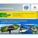 Tirage au Sort Quotidien Magasin U : Un voyage au Brésil pour 2 personnes à Gagner - anti-crise.fr