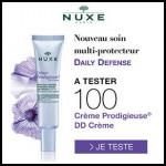 Test de Produit Beauté Test : Crème Prodigieuse® DD Crème de Nuxe - anti-crise.fr