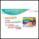 Tirage au Sort Pampers : 1 an de couches Active Fit format MEGA Taille 4 à Gagner - anti-crise.fr