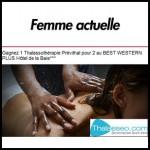 Tirage au Sort Femme Actuelle : 1 Thalassothérapie Prévithal pour 2 au Best Western Plus Hôtel de la Baie à Gagner - anti-crise.fr