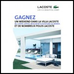 Tirage au Sort Lacoste : 1 week-end dans la villa Lacoste de l'hôtel Sofitel Mogador à Essaouira au Maroc à Gagner - anti-crise.fr