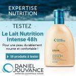 Test de produit Betrousse : Lait Nutrition Intense 48h Daniel jouvance - anti-crise.fr