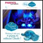 Tirage au Sort Parents Info Bébé : Veilleuse Twilight Turtle Blue à Gagner - anti-crise.fr
