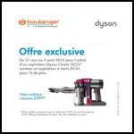 Offre de Remboursement Dyson / Boulanger : Un aspirateur à main DC34 pour 1€ de plus - anti-crise.fr