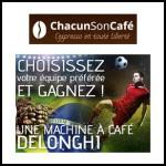 Tirage au Sort Chacun Son Café : Machine à Café Expresso Delonghi à Gagner - anti-crise.fr