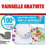 55d6a343e49f03 100% Remboursé  Vaisselle à Auchan Périgueux